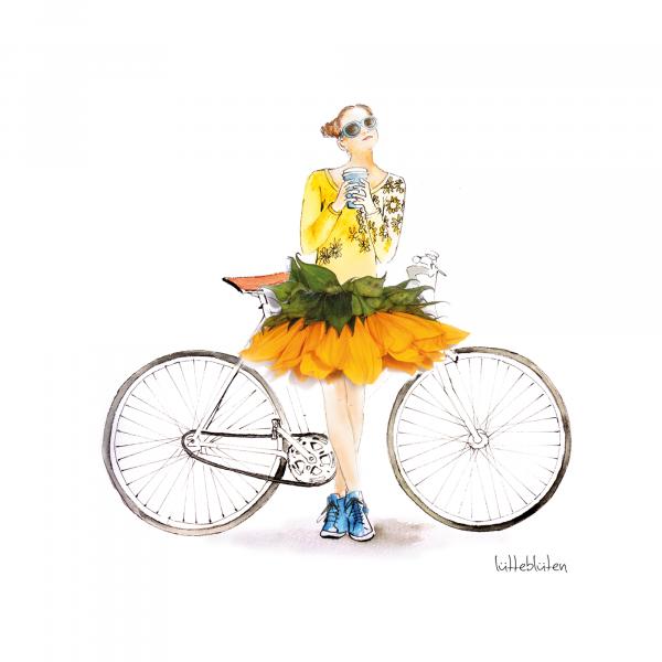Nach der Fahrradtour