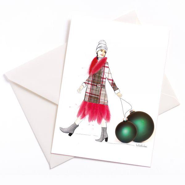 Lütteblüten-weihnachten-Weihnachtskarte