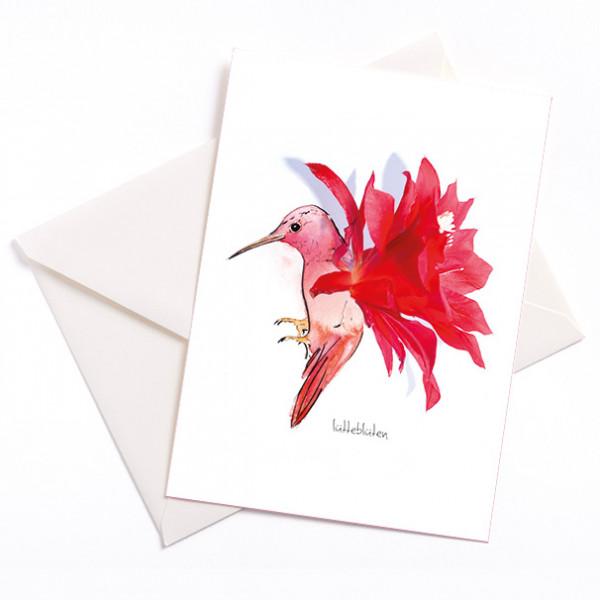 Lüttteblüten Kaktus Kolibri