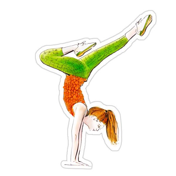 Rote Linsen Yoga