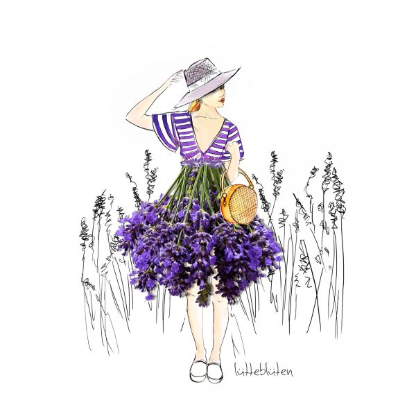 Lütteblüten Lavendel Provence