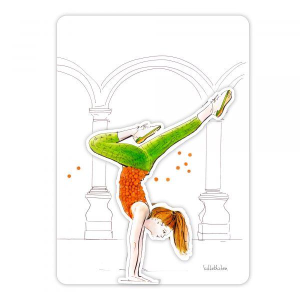 Lütteblüten Yoga Aufkleber & Karten