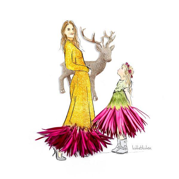 Lütteblüten Weihnachten Elch