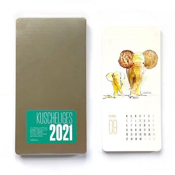 """Kalender """"Kuscheliges 2021"""""""