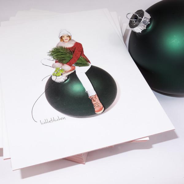 Lütteblüten Weihnachtskugel