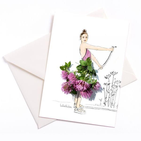 Garten Blumen giessen Lütteblüten Gabriele Ampt