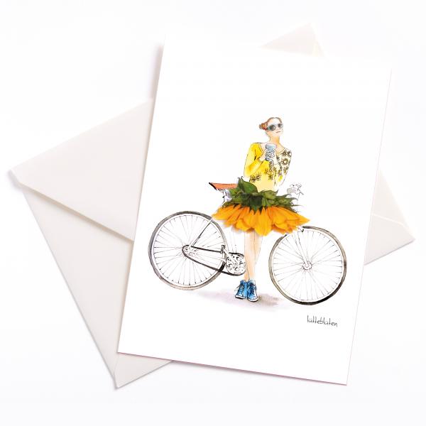 Lütteblüten Fahrradtour Sonnenblume