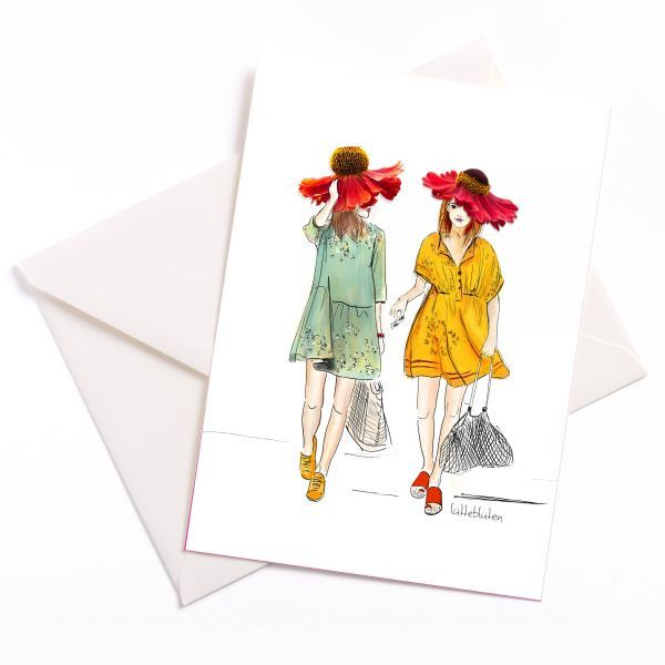 Lütteblüten Shopping mit Freundin Sonnenbraut