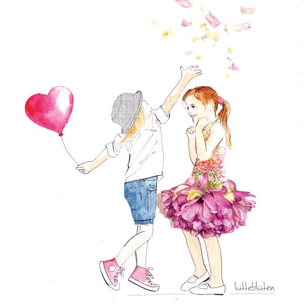 Lütteblüten verliebt valentinstag Hochzeit